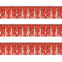 Red Fiesta Fringe String Pennants, PENNSFP6E