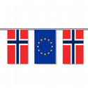 Norway & E.U. String Pennants