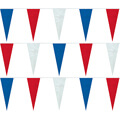 Red White Blue String Icicle Pennants, PENNSP550B