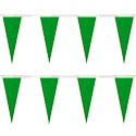 Green Heavy Duty String Icicle Pennants