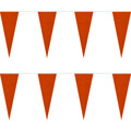 Orange String Icicle Pennants, PENNSP550OR