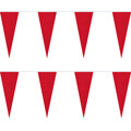 Red Heavy Duty String Icicle Pennants