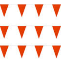 Hunter Orange String Pennants, PENNSPC50R