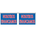 Nostros Financiamos String Pennants