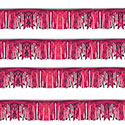 Pink Starburst String Pennants