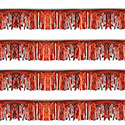 Red Starburst String Pennants