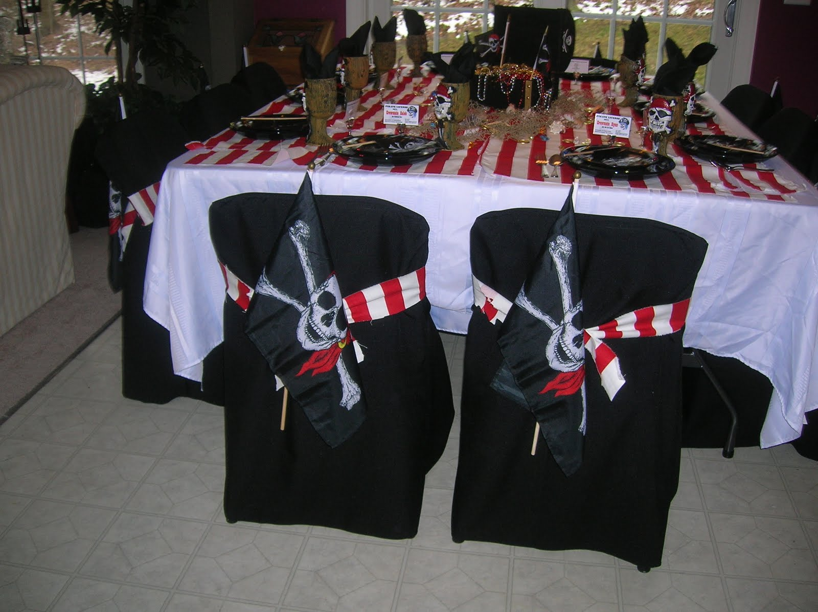 Creative Ways To Decorate With Pirate Flags