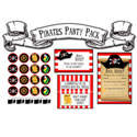 Pirates Printable Party Pack