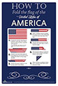 How to Fold the American Flag Poster,POSTERFOLD