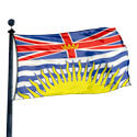 British Columbia Flag, PRBRCO35