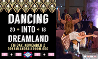 Dancing Into Dreamland 2018 promotional poster