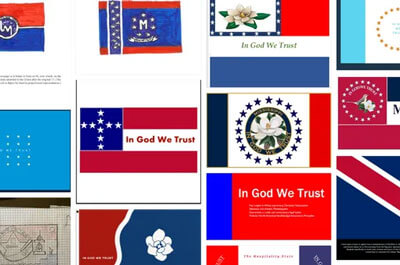 The Mississippi Department of Archives and History has release more than 2,000 ideas from the public for a new state flag. (Courtesy image)