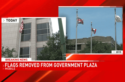 (WPMI) Changes coming to flags at Mobile's Government Plaza