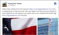 Frying Pan Tower Twitter