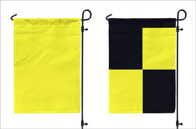 Quarantine Flags made by FlagandBanner.com