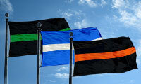Thin Line Flags / FlagandBanner.com
