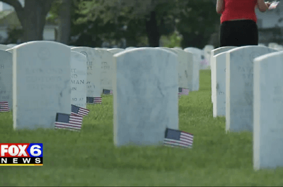 The Wisconsin Truck Takeover Enthusiasts paid tribute to the lives lost while serving our country / Fox 6