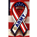 Red, White & Blue Army Ribbon Sign