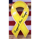 Support Our Troops Ribbon Sign