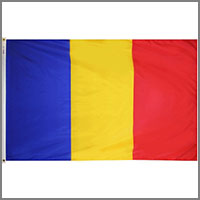 Romania Flags