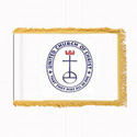United Church of Christ Flag Fringed with Pole Hem