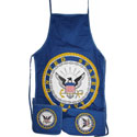 Navy Apron Set, RUFF580282