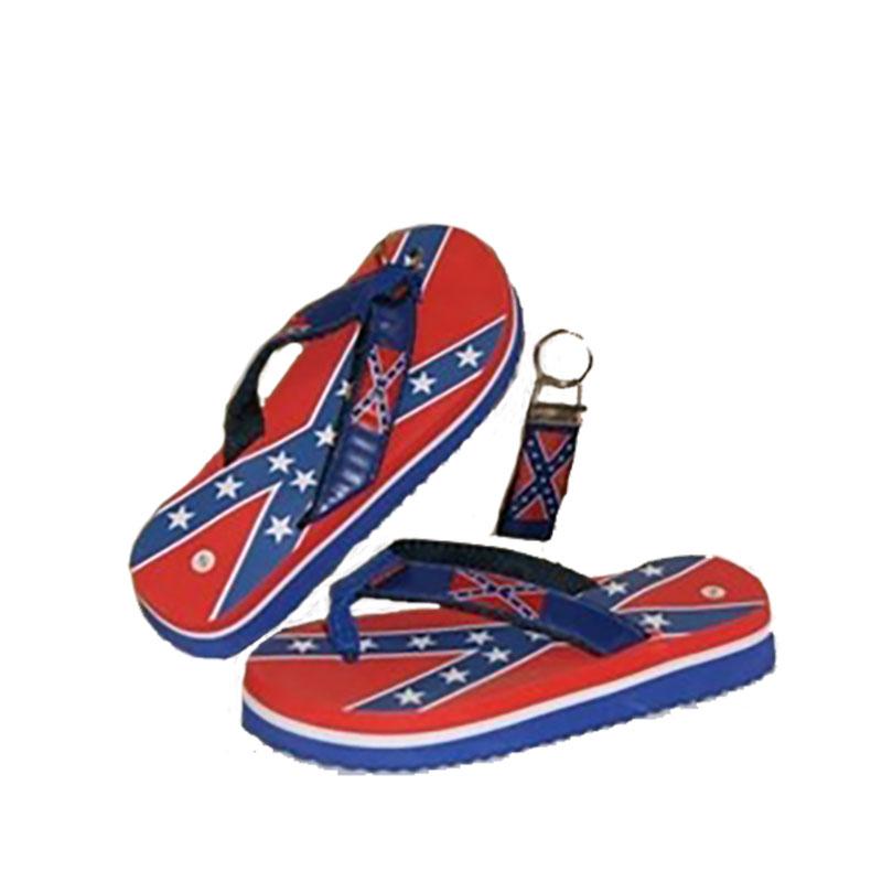 95c55f72c0 Confederate Flip Flops