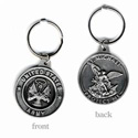 Army Medallion Key Chain, RUFFARMKC
