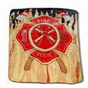 Firefighter Flag Blanket, RUFFFIREMB