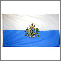 San Marino Flags
