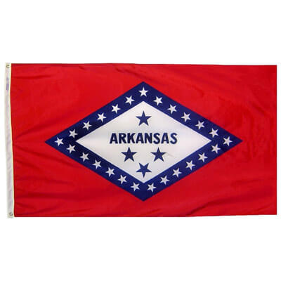 Arkansas Nylon Flag, FBPP0000009538