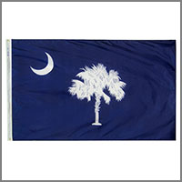South Carolina State Flags & Banners