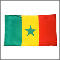 Senegal Flags