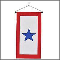 Service Star Flags, Banners, & Accessories