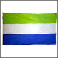 Sierra Leone Flags