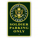 Soldier Parking Only Sign, SIGN7503