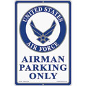 Airman Parking Only Sign, SIGN9102