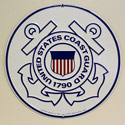 Coast Guard Sign, SIGN9015
