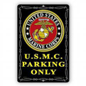 U.S.M.C. Parking Only Sign, SIGN9101