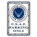 U.S.A.F. Parking Only Sign, SIGN9102