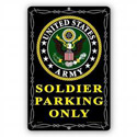 Soldier Parking Only Sign, SIGN9103