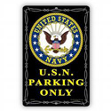 U.S.N Parking Only Sign, SIGN9104