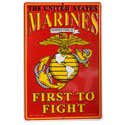 Marines First To Fight Sign, SIGN9110