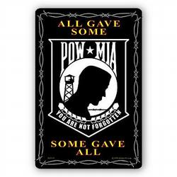 POW MIA Sign, SIGN9125