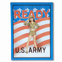 Army Girl Sign, SIGNC402