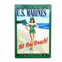 Marine Corps Girl Sign, SIGNC404