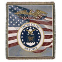 Air Force Tapestry Blanket, SIHOTPM909