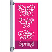 Spring Street Pole Banners