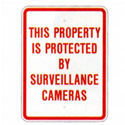 Property Protected By Surveillance Cameras Sign, SSG117RA9