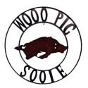 Woo Pig Sooie Wrought Iron Sign, STARARK24